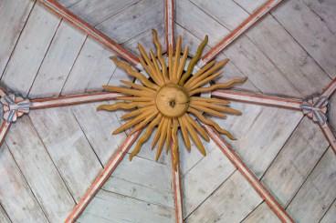 Trätak i Åre gamla kyrka