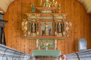 Altartavlan Kolåsens lappkapell