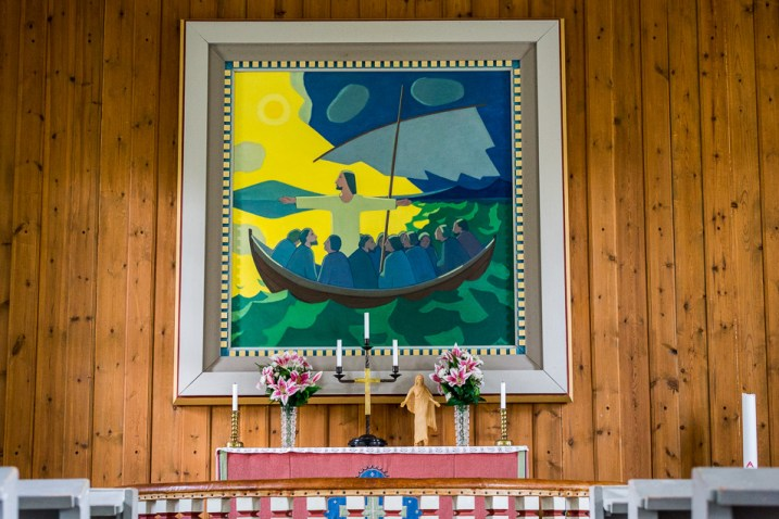 Altartavlan i Ankarede kapell