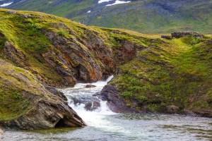 Vattenfall i Kroarjohke