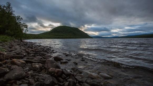 Kväll vid Raukasjön