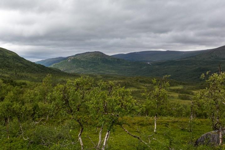 Utsikt över Skaalmavaartoe