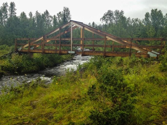 Bron över Njáhkájåhkå