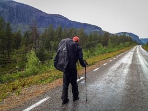 Regn på Ritsemvägen