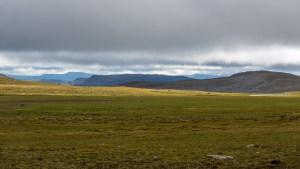 Platån på Vuomatjåhkka