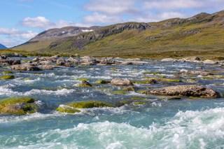 Fikastället mellan Alisjávri och Rádujávri