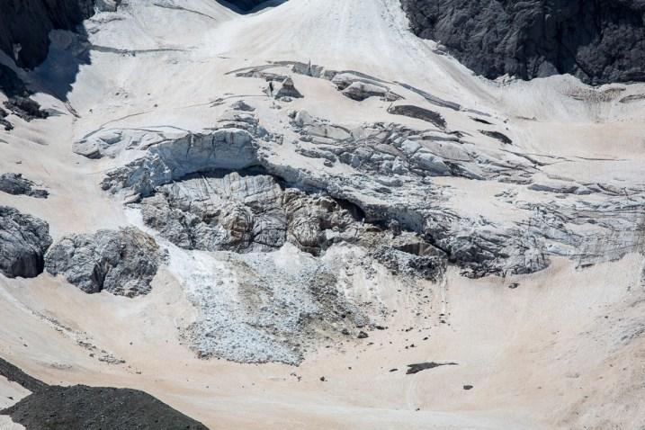 Glaciären under Vignemale.