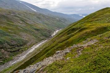 Kanjonen uppströms