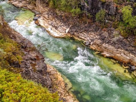 Abiskoeatnu kanjon
