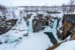 Isfall Abisko