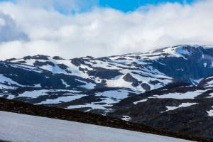Kungsleden LeTrek snö