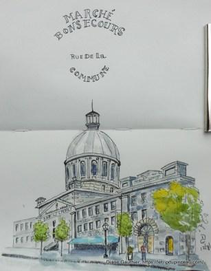 Marché Bonsecours, Montréal, juil 2017