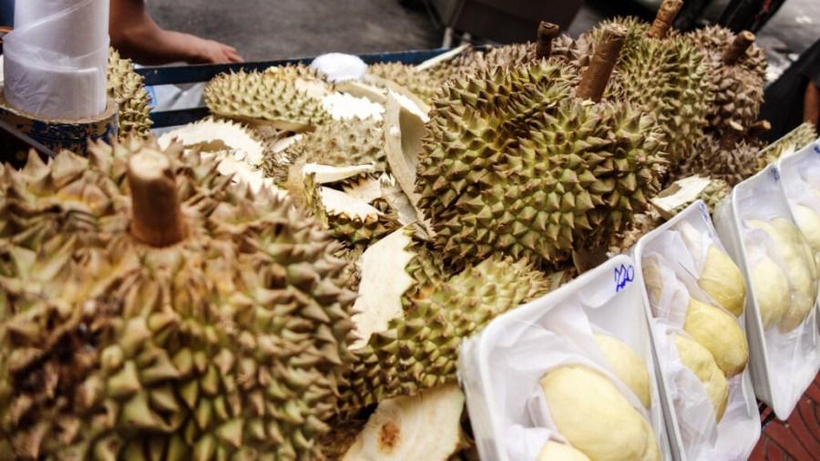 Die berühmt berüchtigte Durian