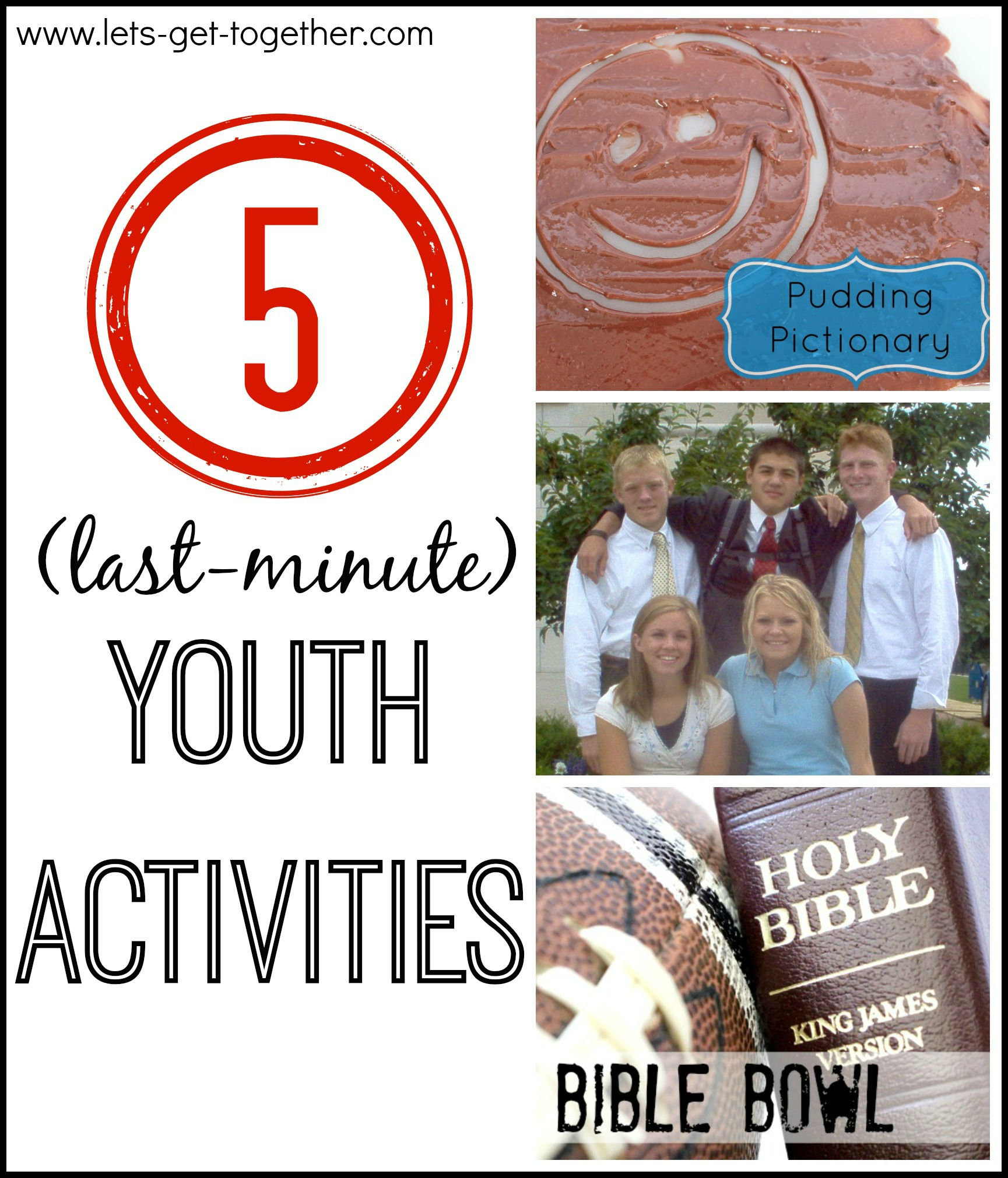 5 Last Minute Youth Activities