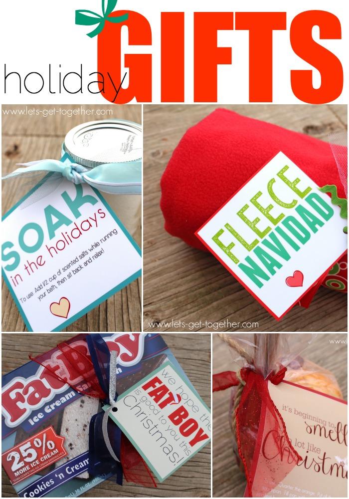 4 EASY Christmas Neighbor Gifts Amp Printables