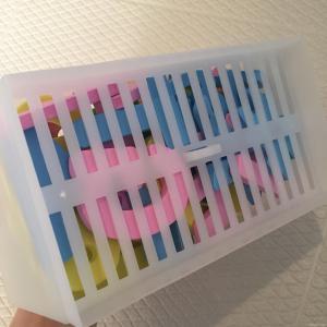 セリア お風呂のおもちゃ収納 ダイソー おすすめ 方法 ブログ