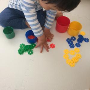 知育遊び 1歳児 2歳児 ブログ