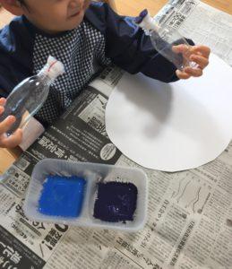 2歳児 製作遊び 工作遊び 知育遊び 絵の具遊び