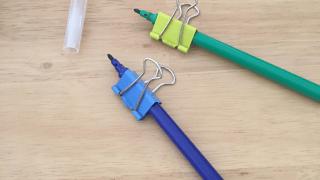 鉛筆 補助具 矯正 クリップ 持ち方