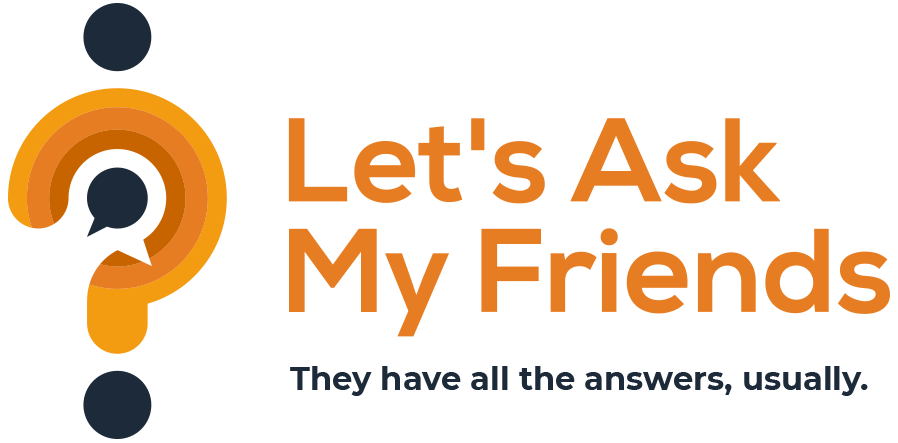 Logo for Let's Ask My Friends