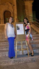 Con Anna Maria Miceli, l'organizzatrice della serata