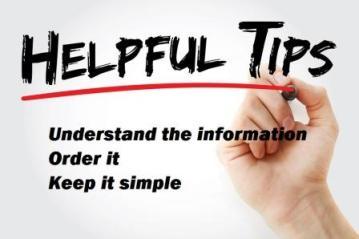 Hand writing helpful tips for good writing