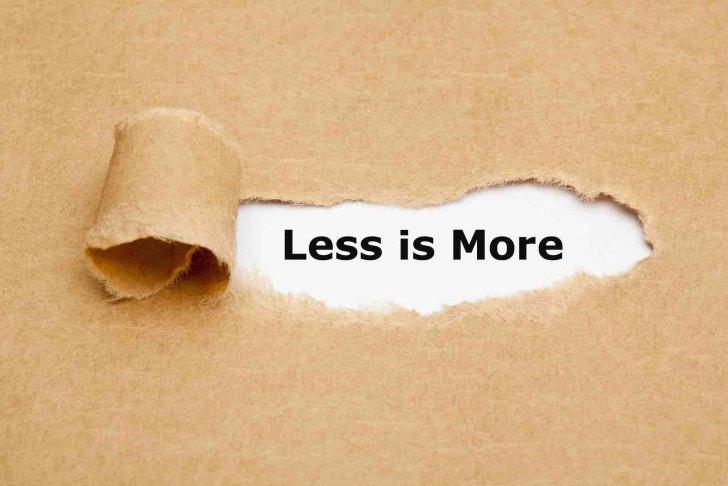 Freelance London copywriter - less is more