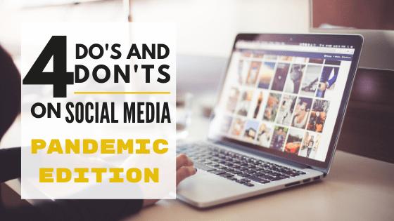 social media tips blog title image