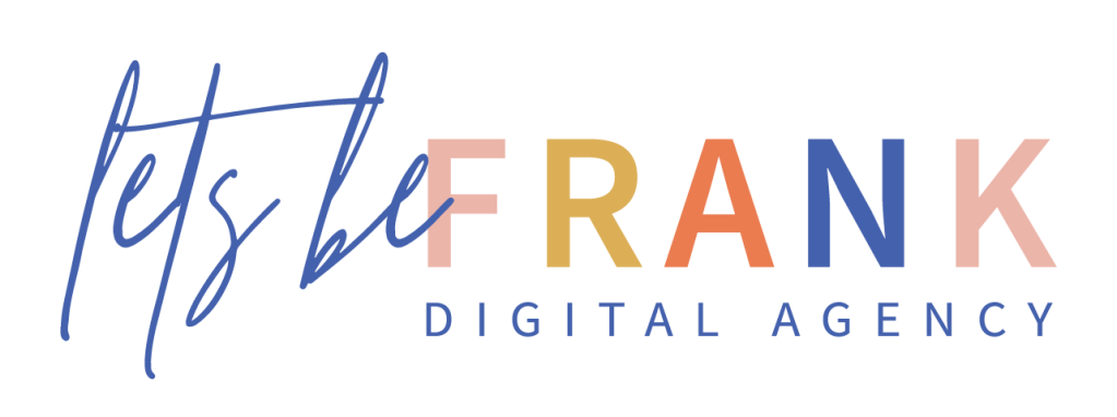 Lets be frank digital logo
