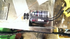 Motor in motor mount