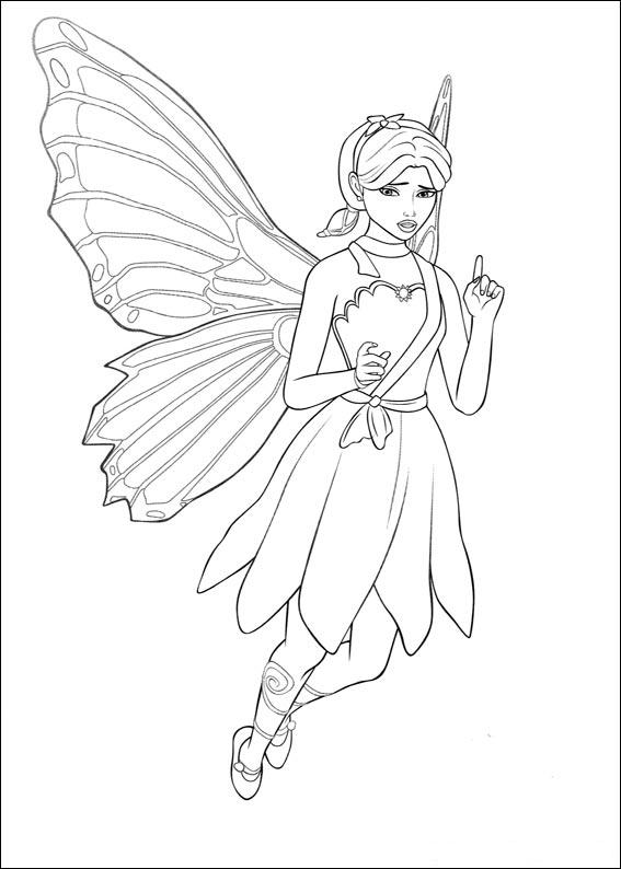 Barbie Mariposa Coloring Pages Fairy Princess Movie 6 Free Printable Coloring Pages For Kids Colouring Pages Coloring Pages Of Cars Barbie Coloring Pages Free Coloring