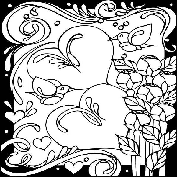 Printable Hearts Coloring Pages Great Coloring Pages Of Hearts