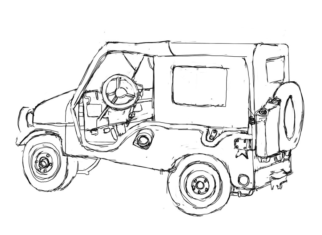 Jeep Coloring Pages Cars Coloring Pages 26 Cars Kids Printables