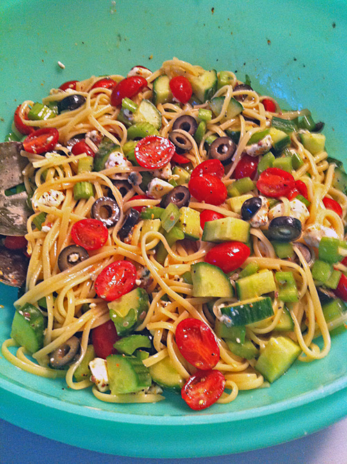 Easy & Colorful Pasta Salad