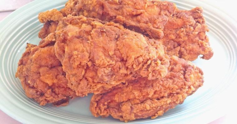 Tasty Lip-Smackin' Fried Chicken