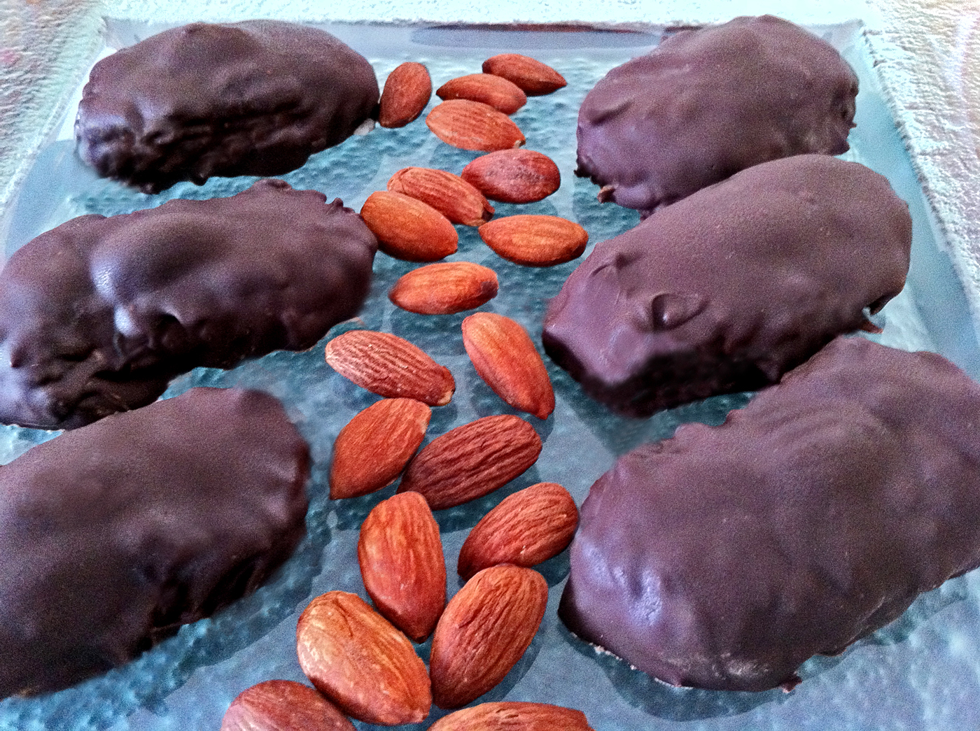 Homemade Almond Joy Candies
