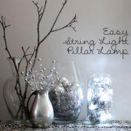Originální novoroční dekorace do bytu - zdroj: LouLou