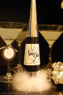 Originální silvestrovská lahev - zdroj: Skiptomylou