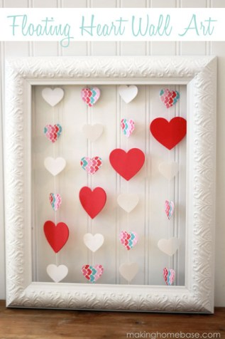 Obrázek na svatého Valentýna - zdroj: MakingHomeBase