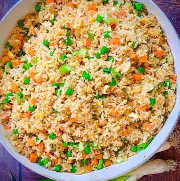 easy stir fried rice recipe
