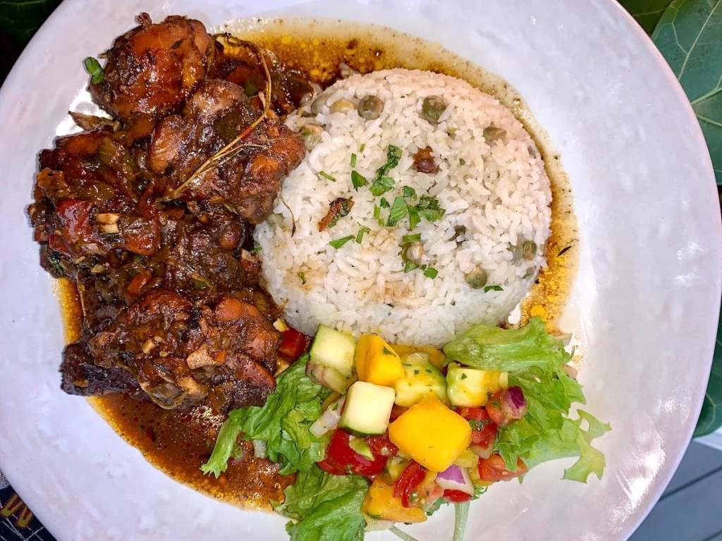 brown stew chicken