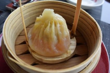 Shanghai crab xiao long po dumpling.