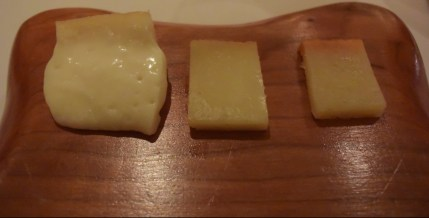 Traditional cheese variety from Serra de Estrela cured three ways.