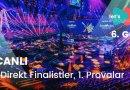 #Eurovision2021: Büyük Beşli ve Hollanda 1.Provalar – 6.GÜN (CANLI)