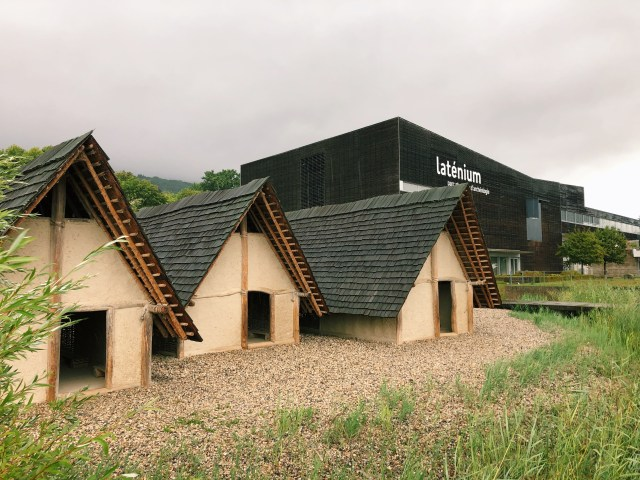 Laténium Museum in Neuchatel