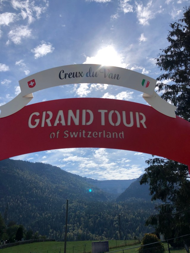 Grand Tour of Switzerland, Creux du Van