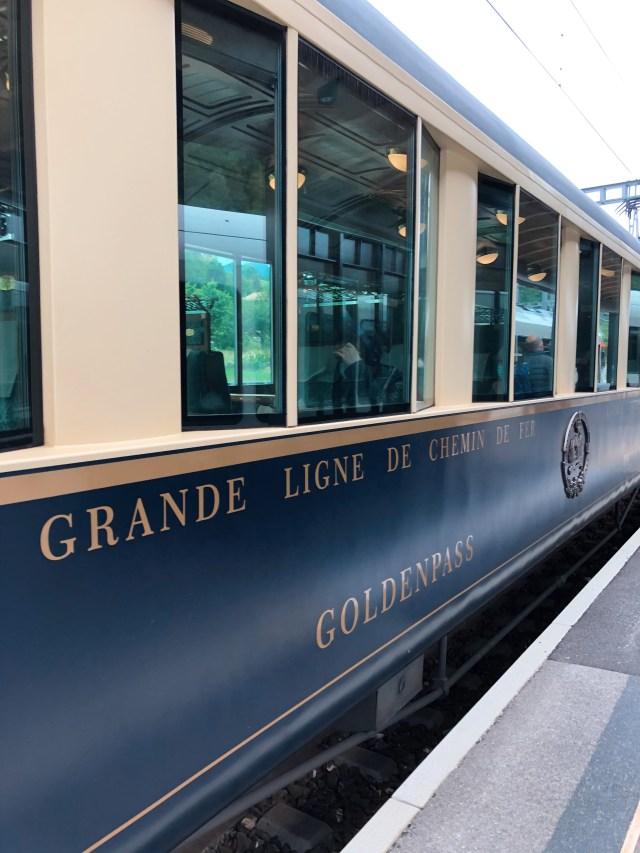Golden pass train