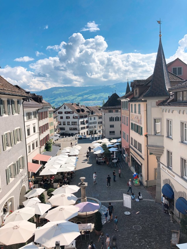 Rapperswil old town