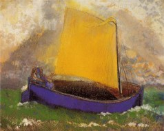 Redon's The Mysterious Boat