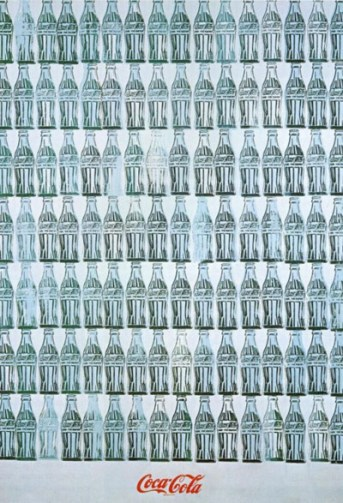 "Andy Warhol's ""Green Coca-Cola Bottles"""